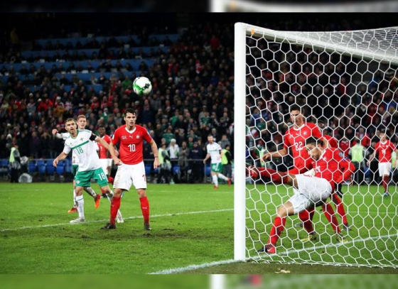 De-Gea's rare howler helps Switzerland to equalize against Spain