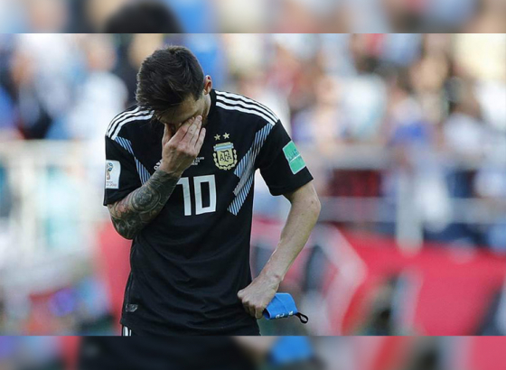 Messi's wastefulness in front of goal inspires Iceland to earn a point against Argentina