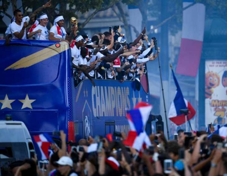 French World Cup team recipients of Legion d'HonneurFrench World Cup team recipients of Legion d'Honneur