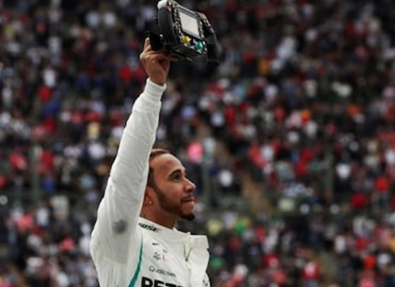 Hamilton extends legacy, claims fifth F1 title