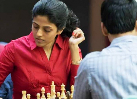 HarikaIn Second Round Of Womens Chess Championship
