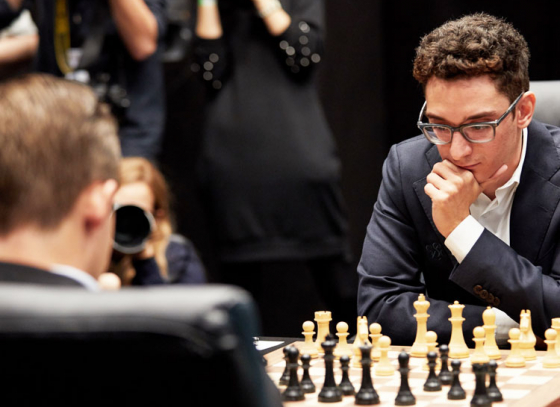 Carlsen and Caruana Draw After Marathon Match