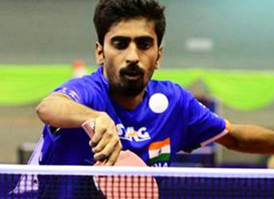 G Sathiyan Knocks Out World No. 16