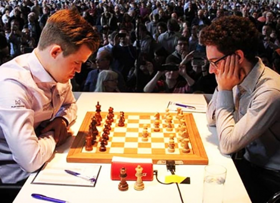 Carlsen Frustrated