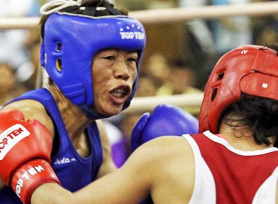 Mary Kom Delivers; Sarita Crashes Out