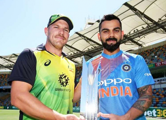 Australia gives a wake up call to India,leads series 1-0