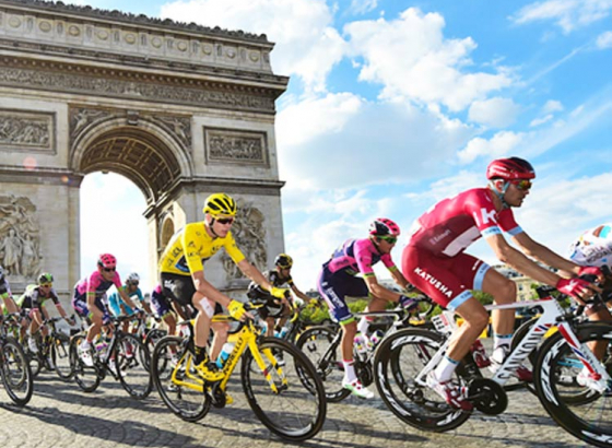 Mountain Beckons Tour de France Route
