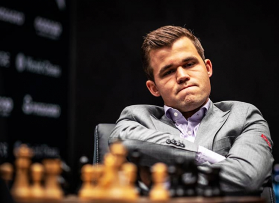Carlsen, Caruana Set Record For Longest Draw Streak