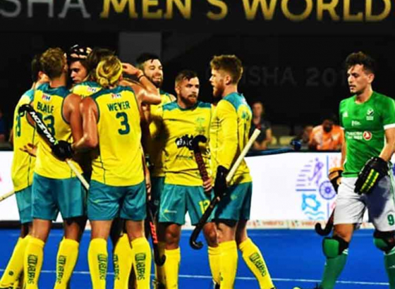 Australia Begins Campaign With Victory