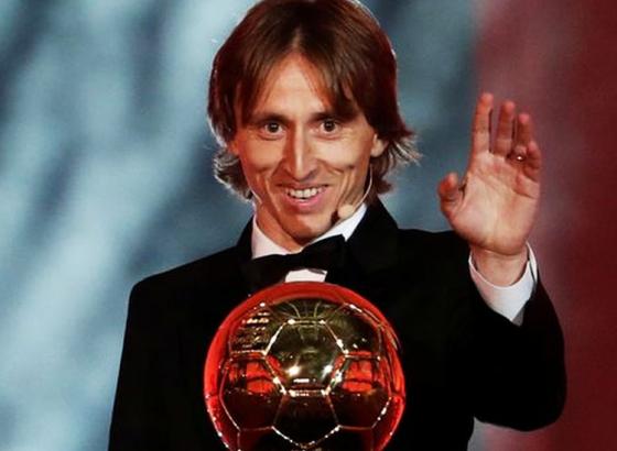 Luka Modric Clinches Ballon d'Or