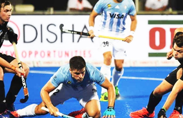 Argentina Routs New Zealand 3-0