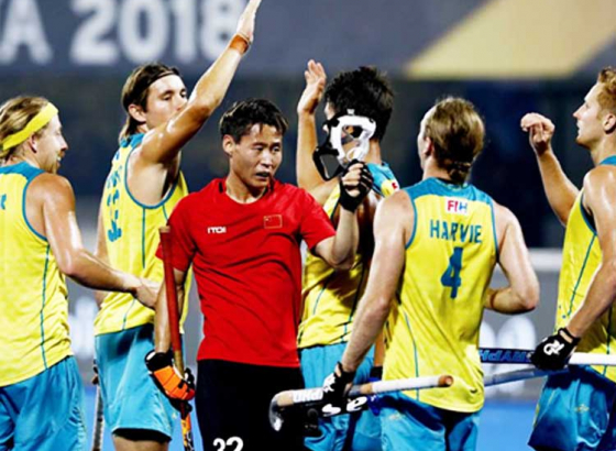 Australia Thrash China 11-0