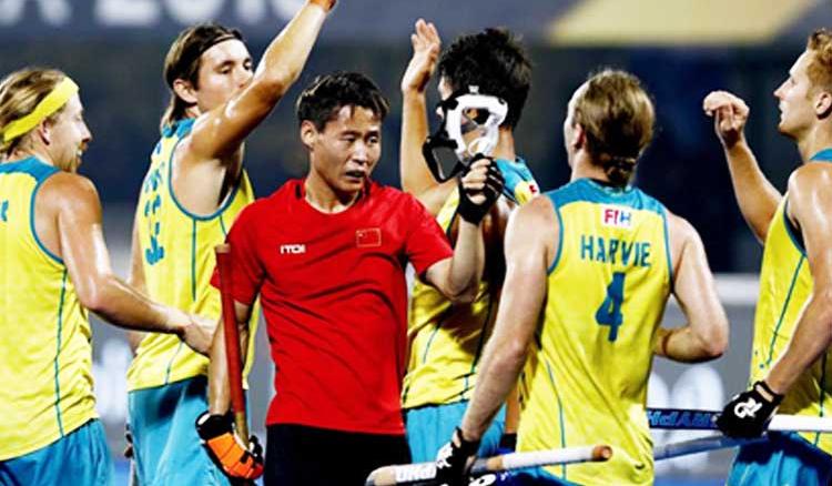 Australia Thrash China 11-0