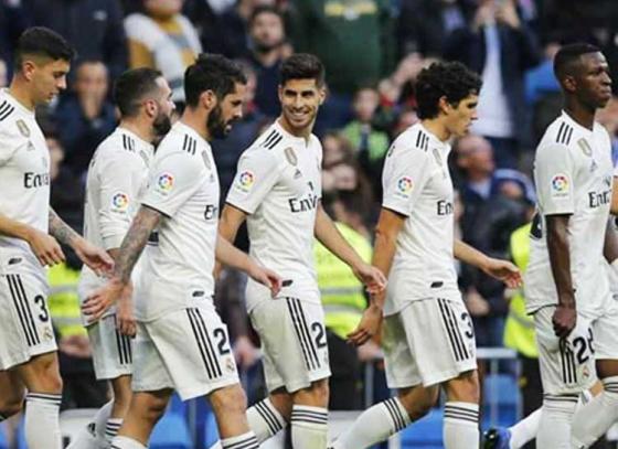Real Madrid Thrash Melilla 6-1
