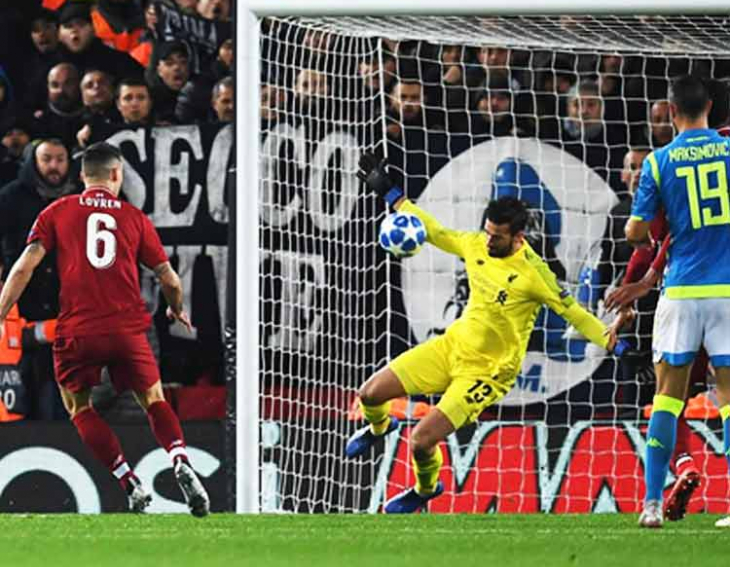 Liverpool secures last 16 position in the Champions League