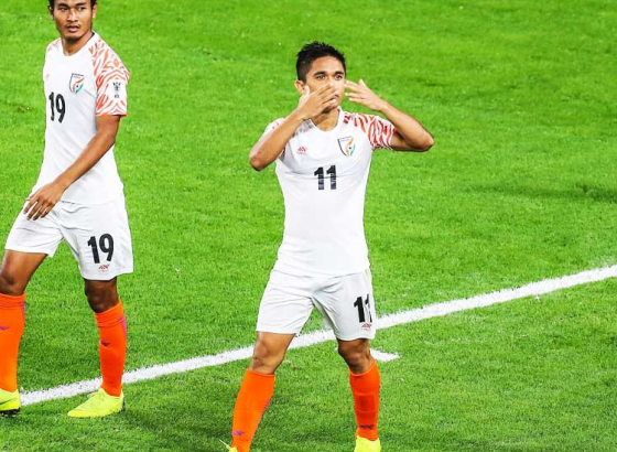 Asian Cup: this was the best match of my career says Chhetri