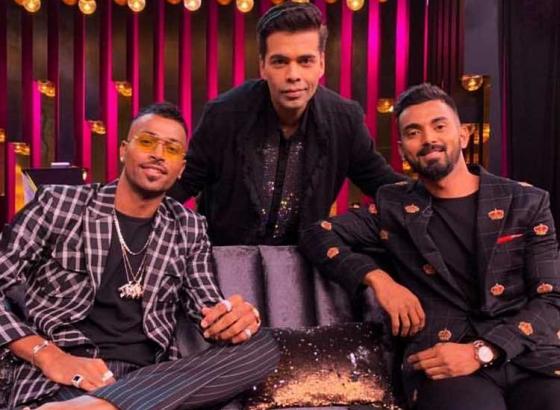 BCCI show cast Hardik Pandya and KL Rahul