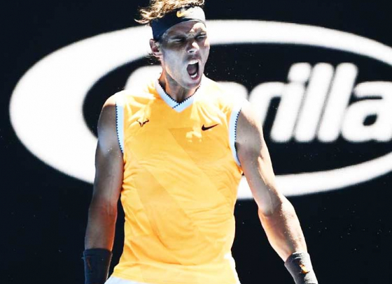 Nadal blazes through to the second round of Australian Open