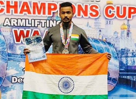 Sagar Gurve Creates History In Moscow!