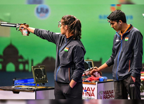 Manu-Saurabh Pair Breaks World Record!
