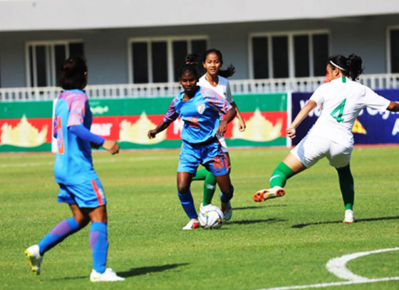 India Women's Football Team Kept Their Win Streak Running