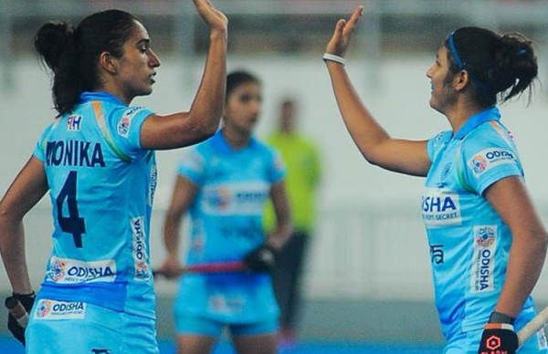 Indian Women's Hockey team draws the match with Malaysia after a thrilling game play