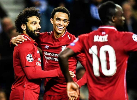 Champions League: Liverpool beat Porto heading straight to the semis