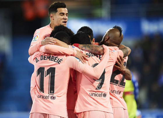 After Defeating Alaves, Barcelona Eyeing Towards La Liga Title