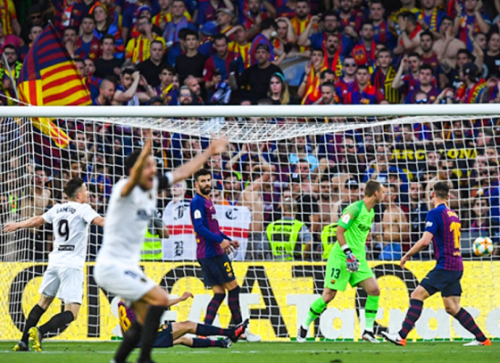 Valencia Tamed Wounded Barcelona in Copa del Rey