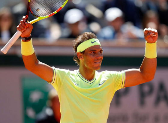 Untameable Nadal Uplifting 12th French Open Title