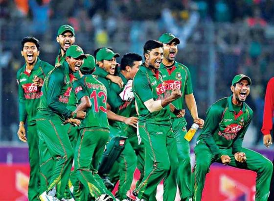 Bangladesh on a Rampage