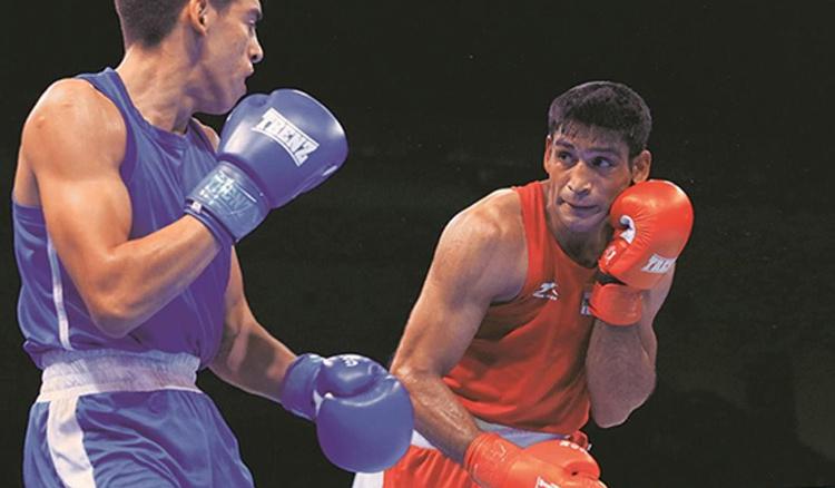 Ashish Kumar Clinching onto His First Gold