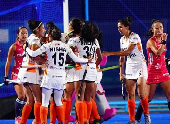 Indian Women's Promising Show at Olympic Test Event