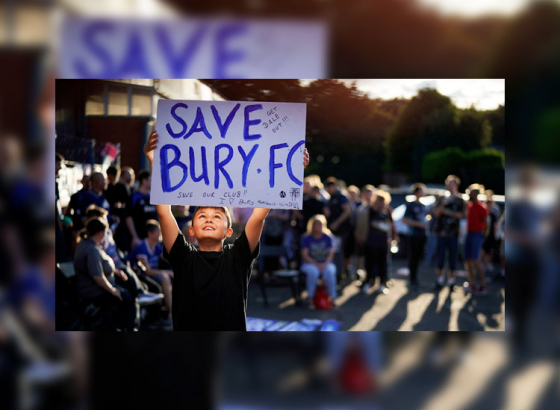 Bury FC Concluding its Legacy