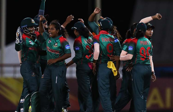 Thailand and Bangladesh in Women's T20 WC