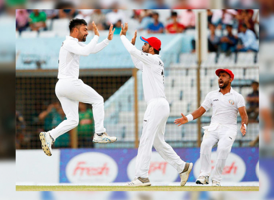 Afghanistan Winning More Than Just A Test