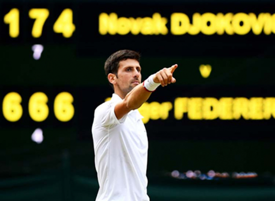 Djokovic, Nadal, Federer Remains on Top of ATP Rankings