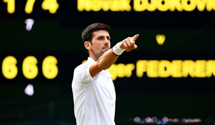 Djokovic, Nadal, Federer Remains on Top of ATP Rankings