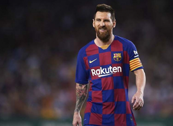 Messi On A Golden Shoe Record