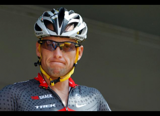 Lance Armstrong deletes Twitter profile update