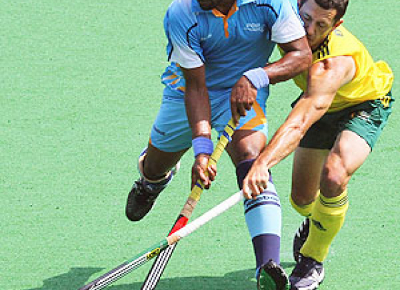 India defeated by Australia in Lanco Super Series Hockey