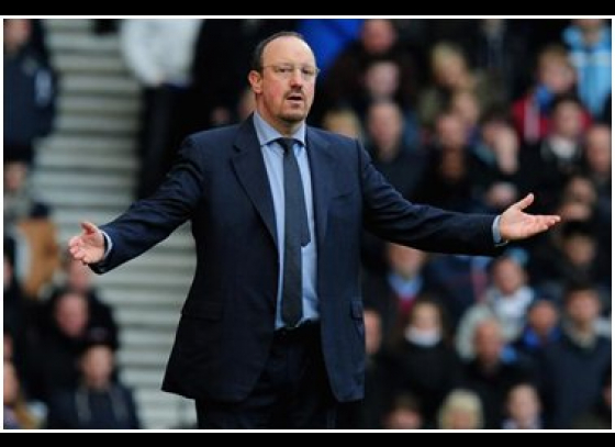 Rafael Benitez furious at players after Chelsea ousted of Champions League