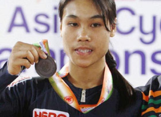 Deborah does India proud; wins bronze at Asian Cycling Championships