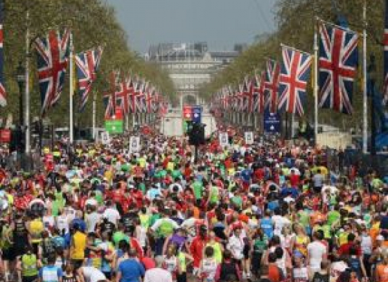 Will the London Marathon commence on Sunday?