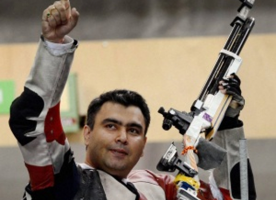 Gagan Narang clinched 13th position in the World Cup shooting