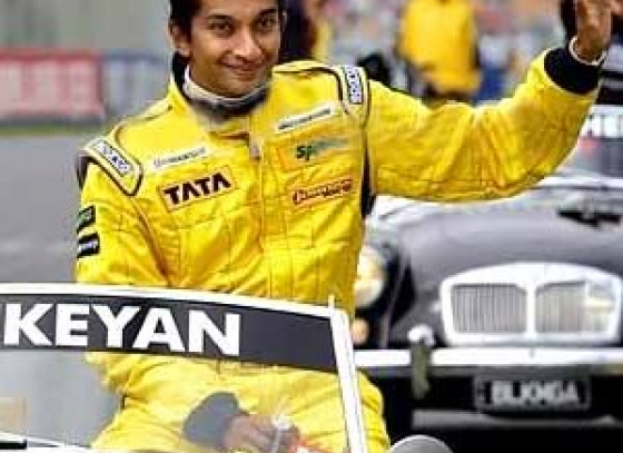 AutoGP series: Narain Karthikeyan relished victory in the fourth round at the Silverstone circuit