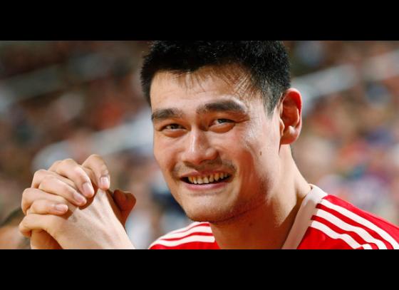 Yao Ming joins Laureus academy