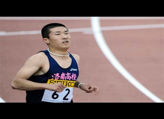 Asia's fastest sprinter to challenge Bolt in New York