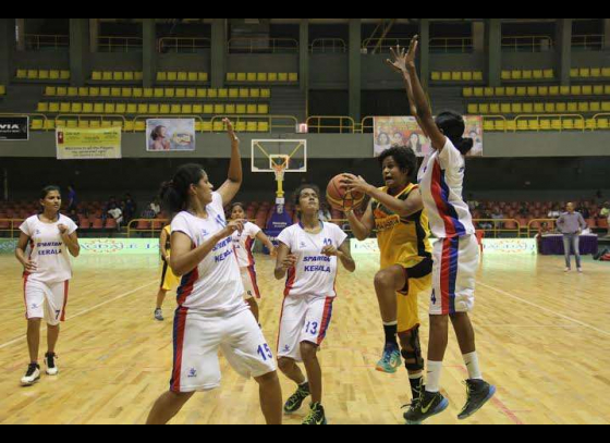 Kerala women enter national basketball semis