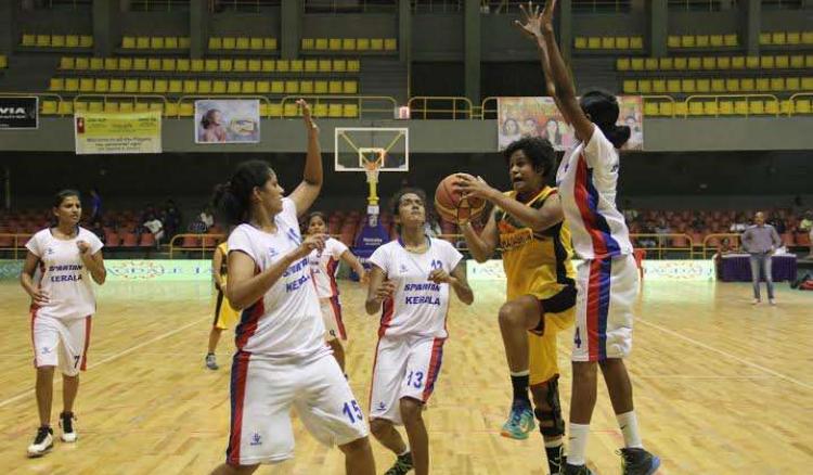 Kerala women enter national basketball semis